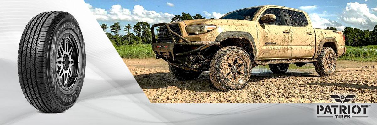 Patriot Tires Web Banner