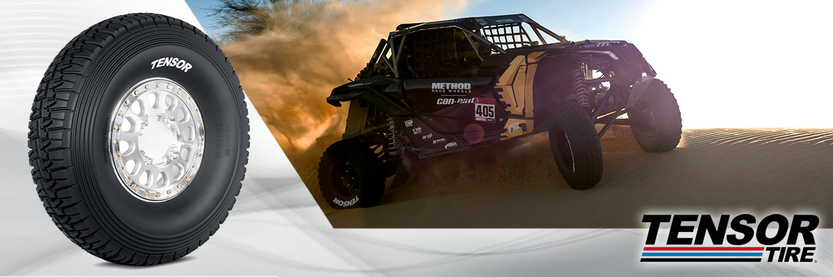 Tensor Tires Web Banner