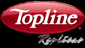 Topline Replicas logo