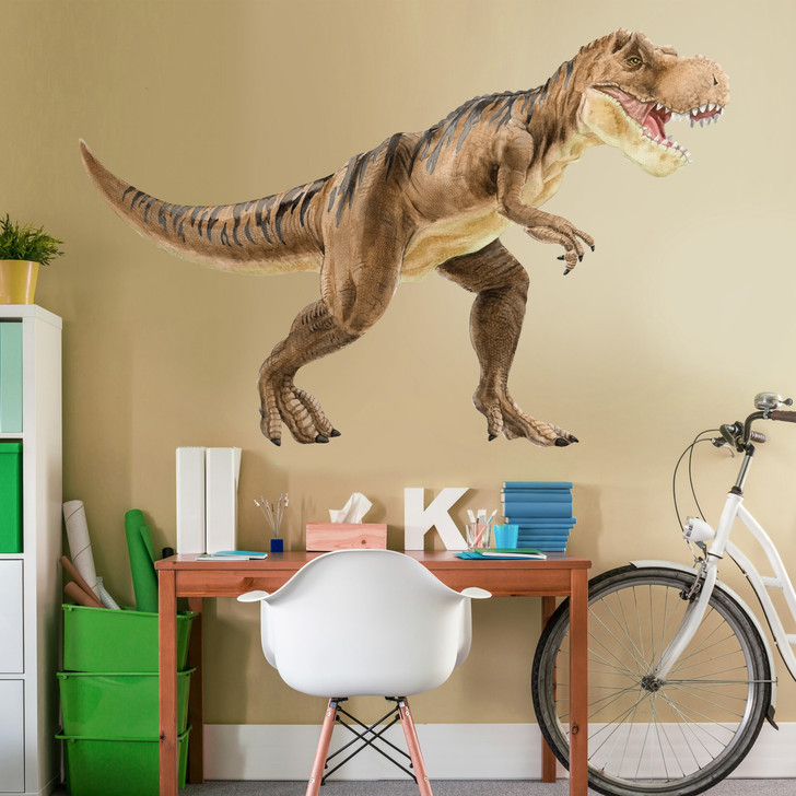 Large Tyrannosaurus Watercolor Wall Decal Sticker