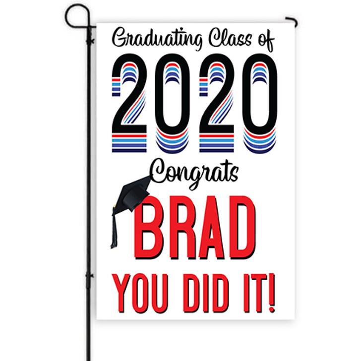Large Year Graduation Yard Decor Banner