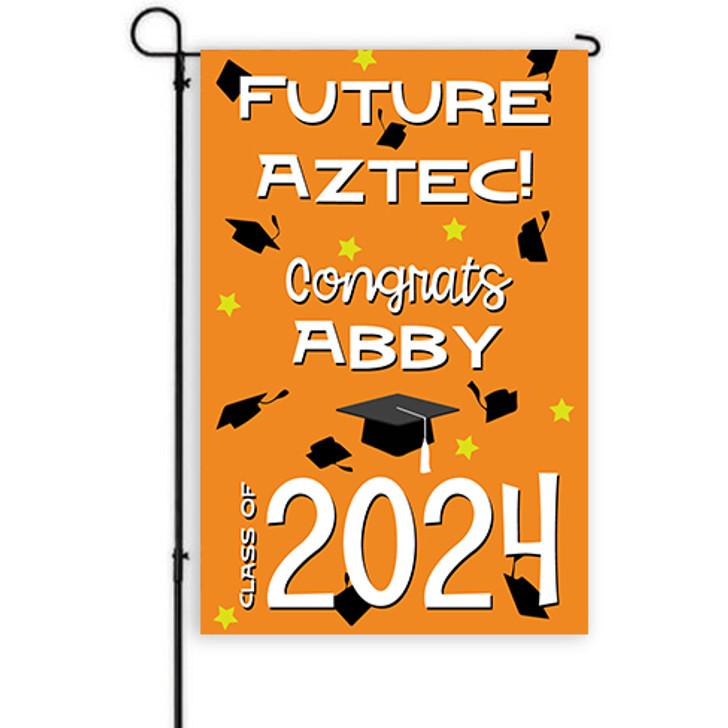 Future Mascot Graduation Yard Decor Banner
