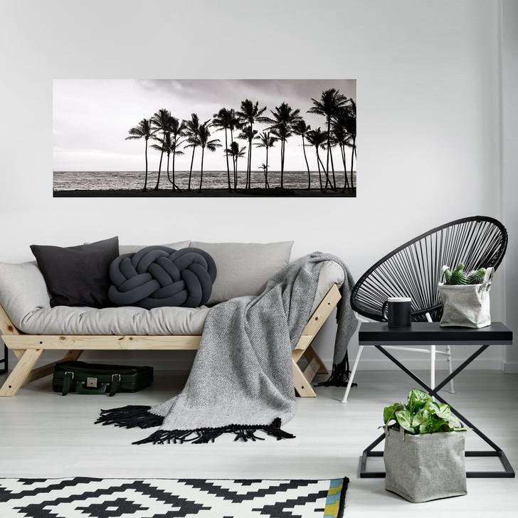 Palm Tree Row Wall Mural