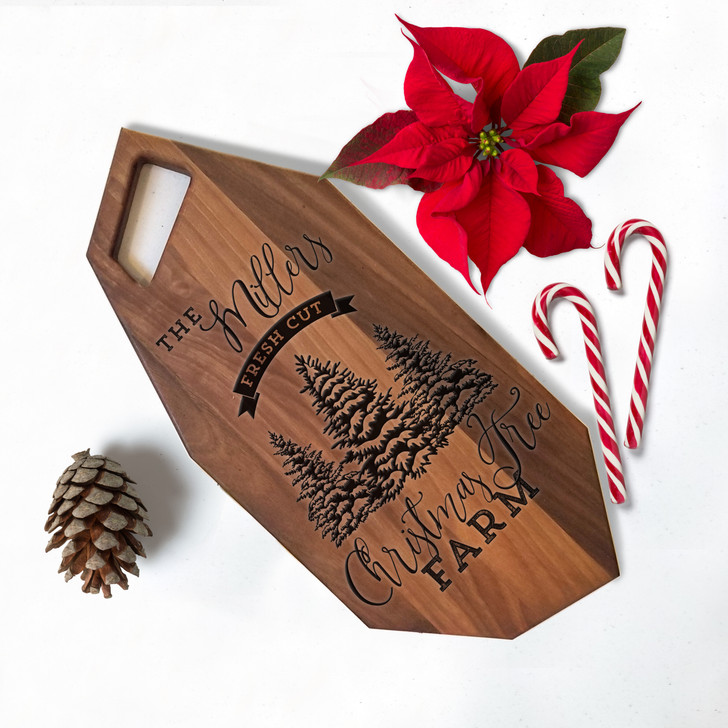 Christmas Tree Farm Charcuterie Board
