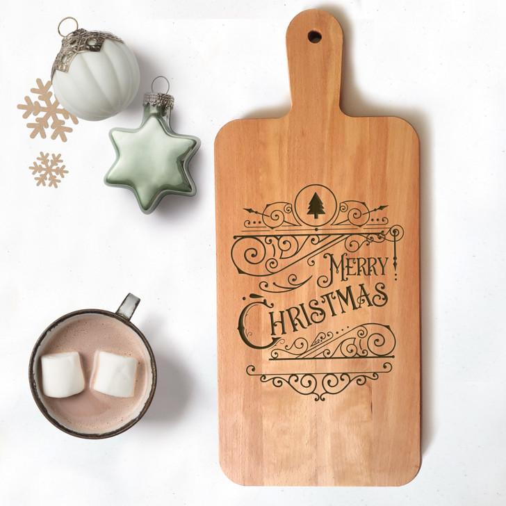 Merry Christmas Charcuterie Board