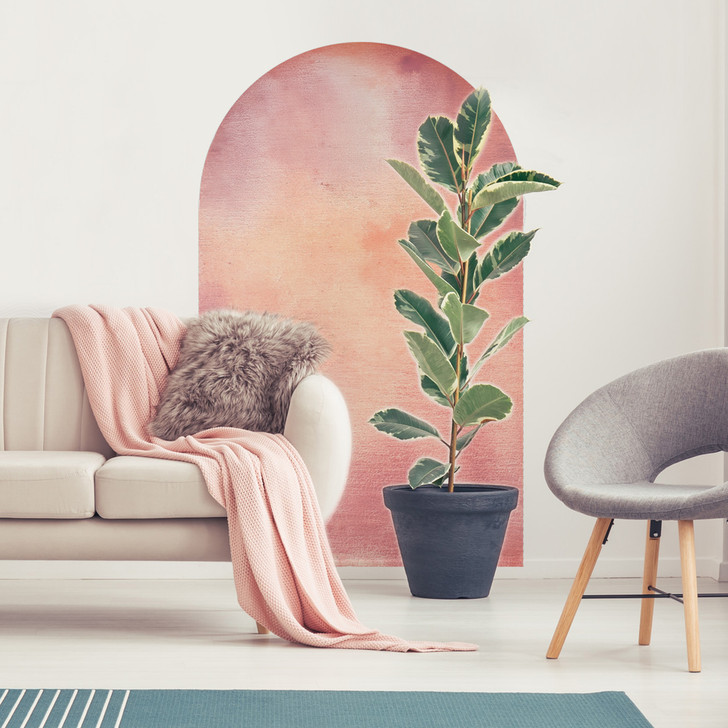 Watercolor Arch Wall Mural - Create Your Own Painted Arch