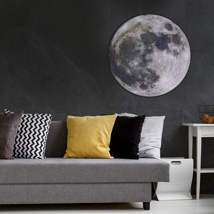 Full Moon Wall Decal by Chromantics