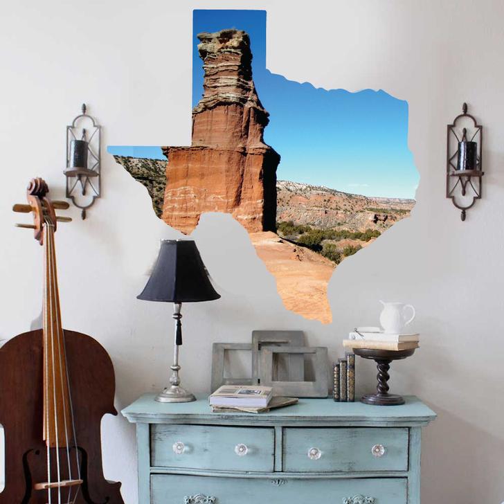 Texas Love Wall Decal by Chromantics
