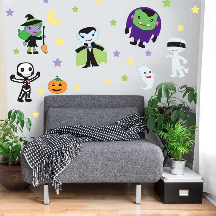 Trick or Treat Kids Wall Decal Kit by Chromantics
