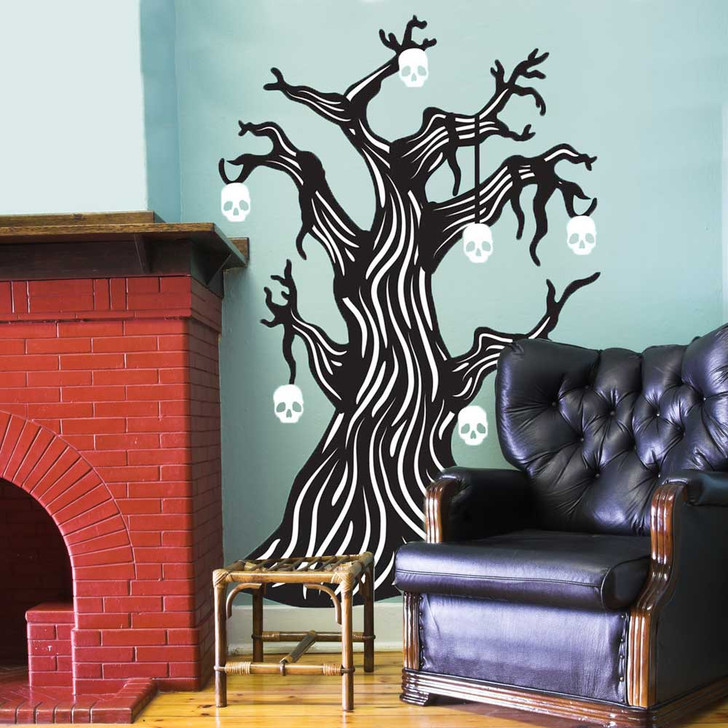 Twisted Bone Tree Wall Decal Set by Chromantics