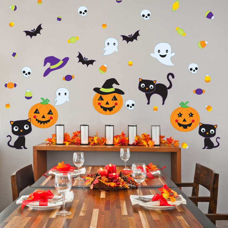 Pumpkin Party Wall Decal Kit by Chromantics