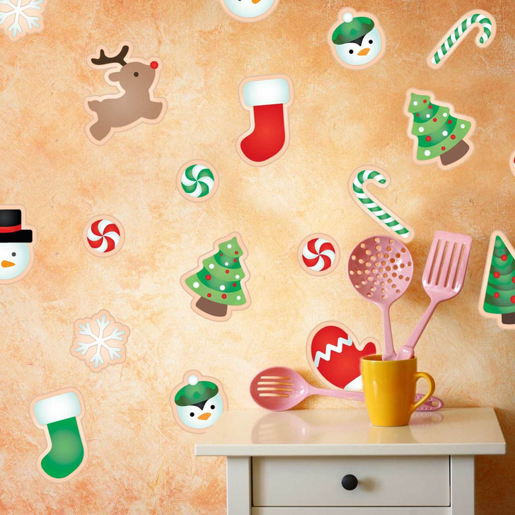 Christmas Sugar Cookie Wall Decal Set by Chromantics