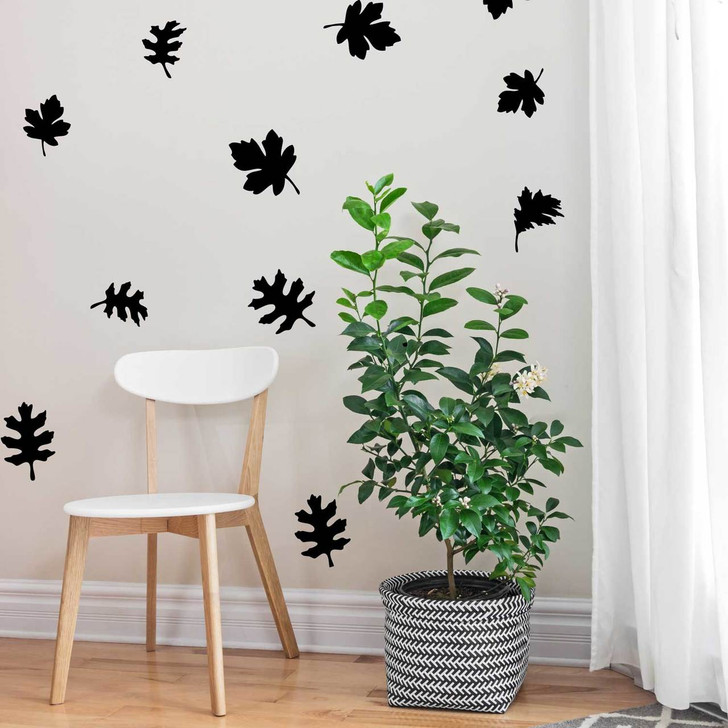 Autumn Leaves Kiss Cut Decal Set by Chromantics