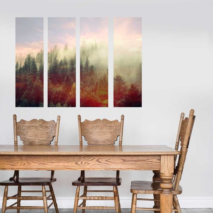 Mystic Forest Multi-Panel Wall Decal by Chromantics