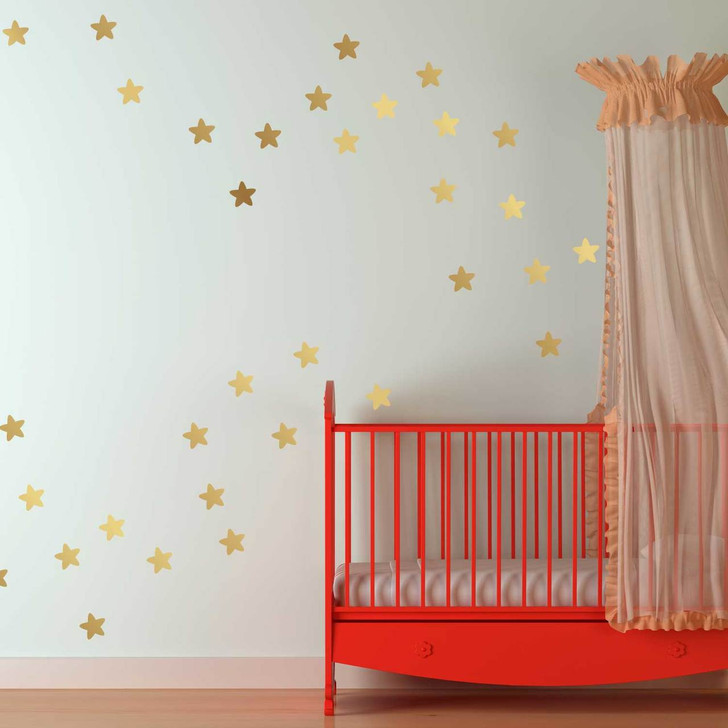 Reach for the Stars Golden Decal Set by Chromantics
