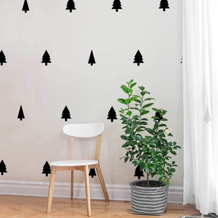 Mini Pines Decal Set by Chromantics
