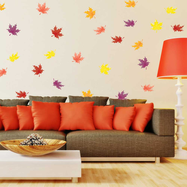 Autumn Leaves Wall Decal Kit by Chromantics