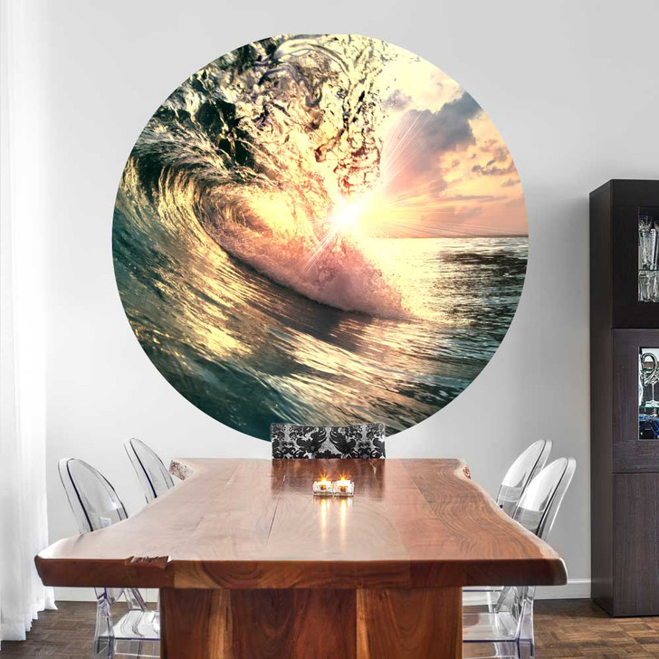 Big Wave Wall Decal by Chromantics