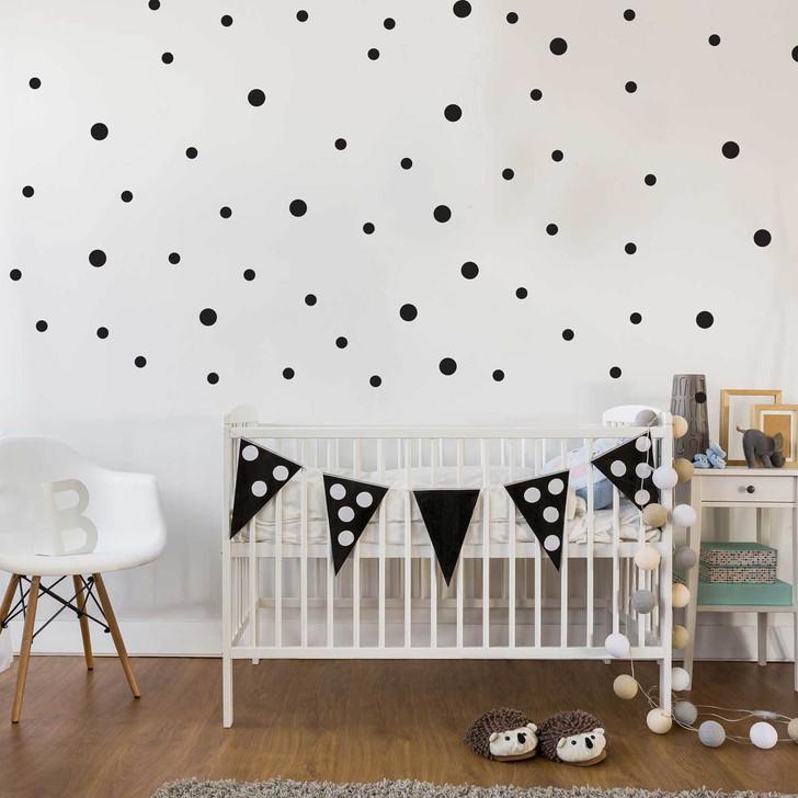 Polka Dots Wall Decal Set by Chromantics
