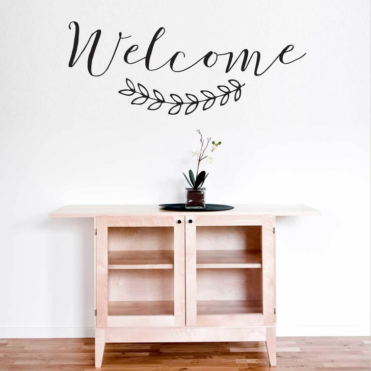 Welcome Wall Quotation Decal by Chromantics