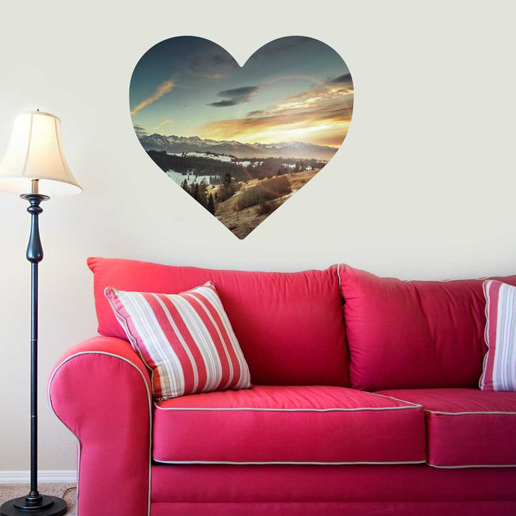 Wild at Heart Wall Decal by Chromantics
