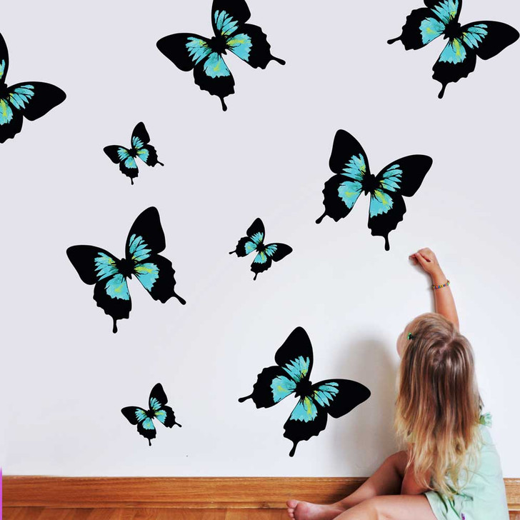 Butterfly Wall Decal Set by Chromantics