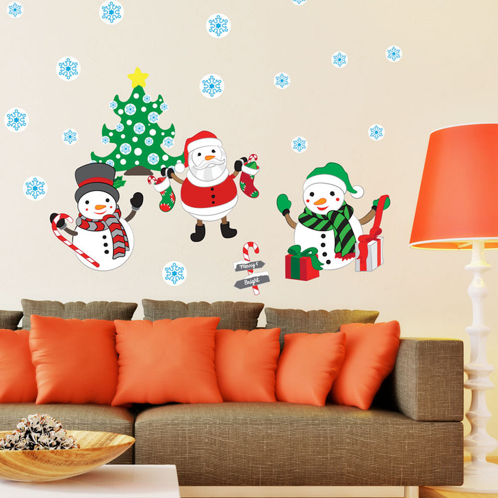 Merry and Bright Wall Decal Set by Chromantics