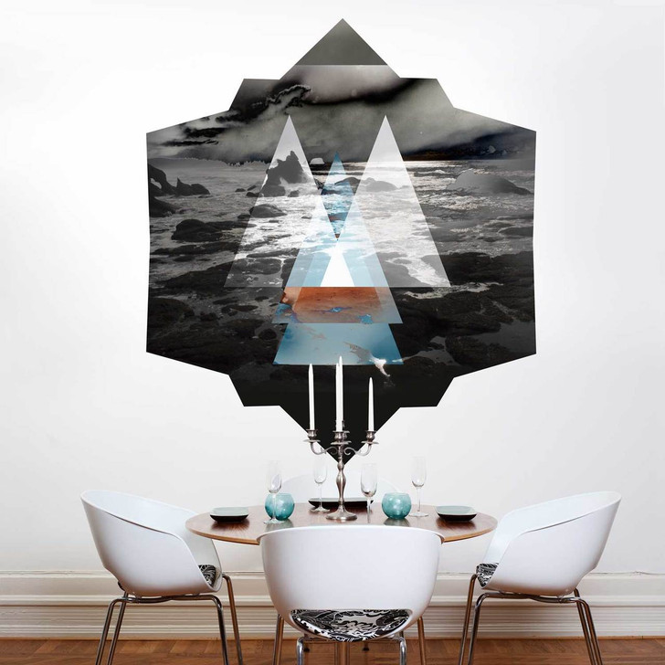 Ocean at Night Wall Decal by Chromantics