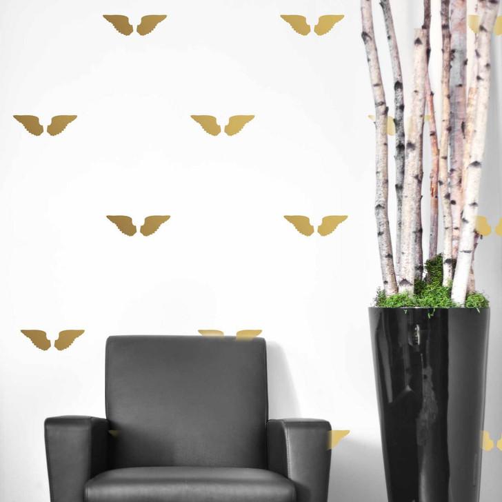 Golden Wing Decal Set by Chromantics