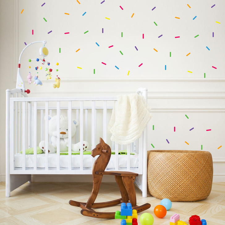 Rainbow Sprinkle Decal Set