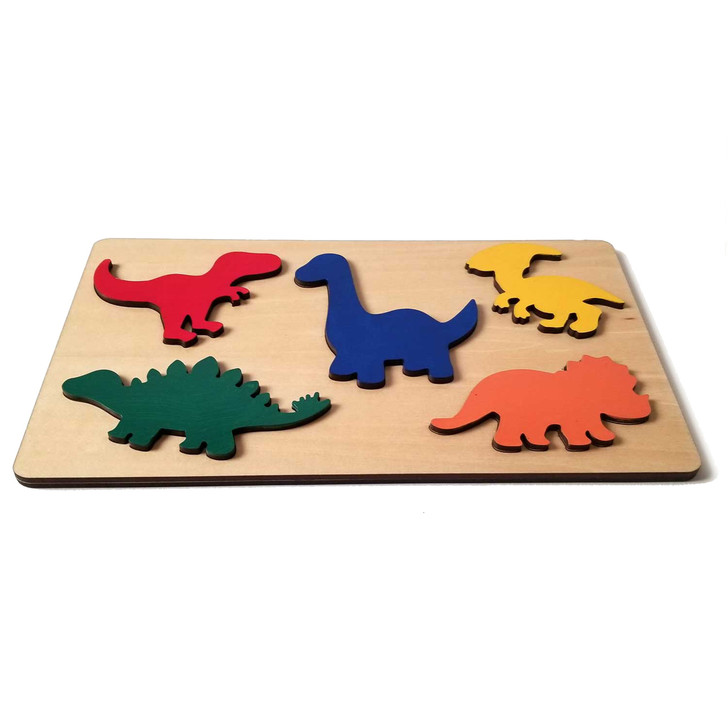 Dinosaur Wooden Puzzle  for Babies and Toddlers