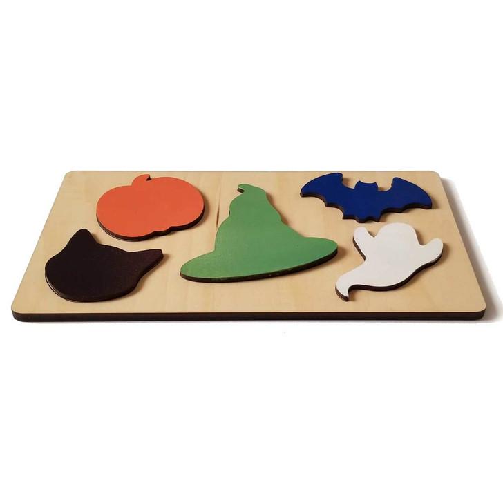 Halloween Wooden Puzzle by Chromantics