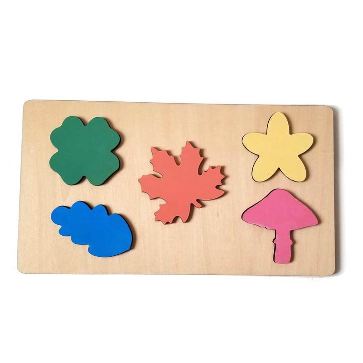 Leaf Wooden Puzzle by Chromantics