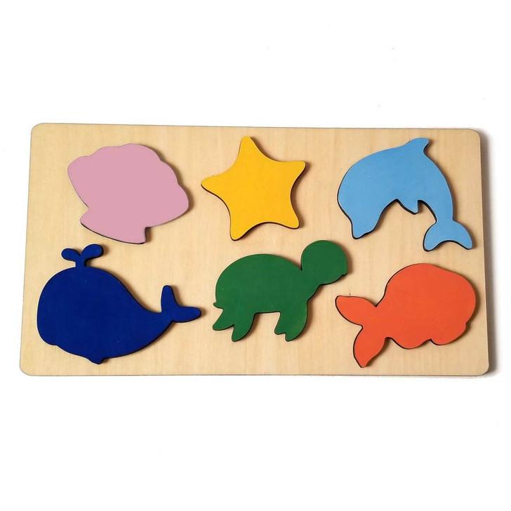 Sealife Wooden Puzzle by Chromantics
