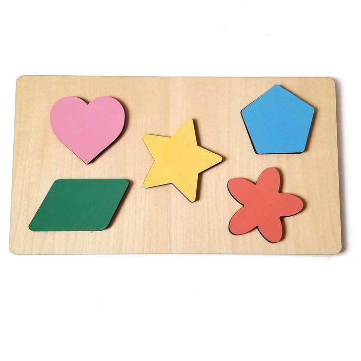 Complex Shape Wooden Puzzle by Chromantics