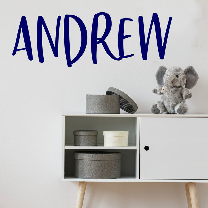 Custom Name Wall Decal in font 1