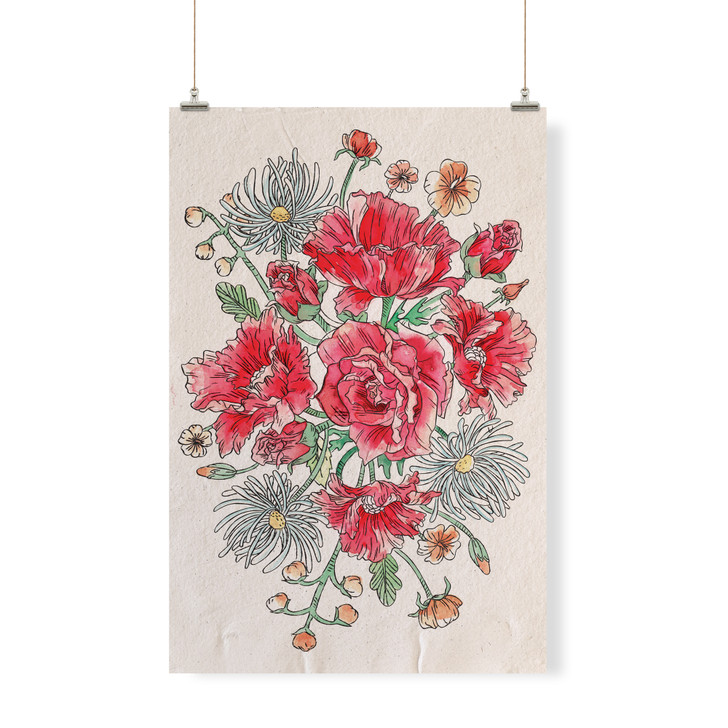 Flower Decor Banner