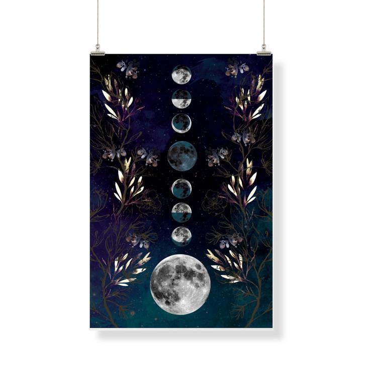 Moon Phases Decor Banner
