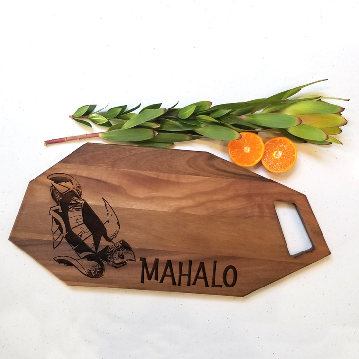 Mahalo Charcuterie Board - Personalized Engraved Bread Board