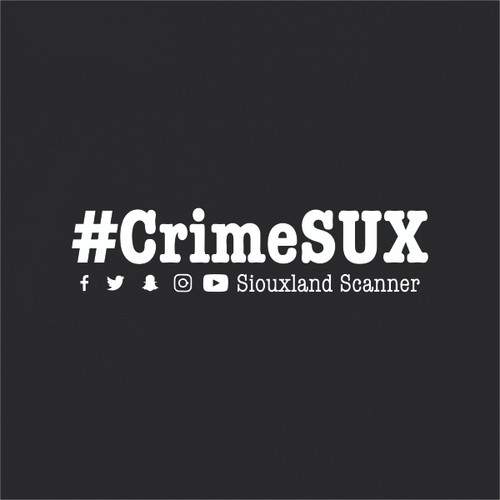 #CrimeSUX - Siouxland Scanner  T-Shirt
