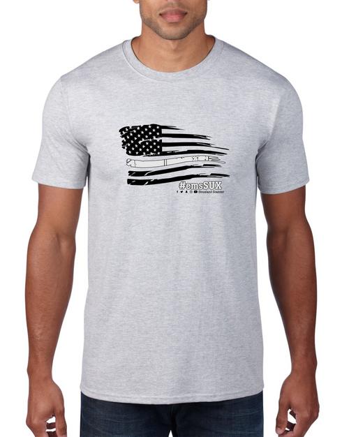 #emsSUX Flag - Siouxland Scanner  T-Shirt