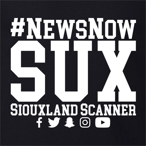 #NewsNowSUX Stacked - Siouxland Scanner  T-Shirt
