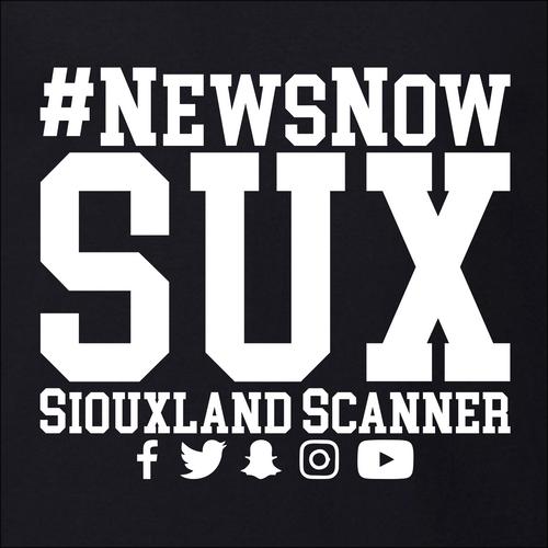 #NewsNowSUX Stacked - Siouxland Scanner  T-Shirt