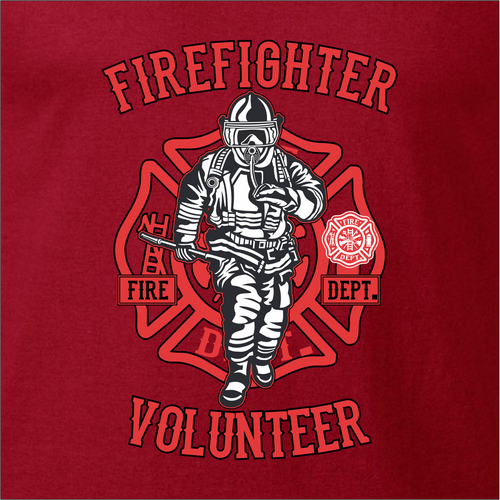 Firefighter Custom T-Shirt