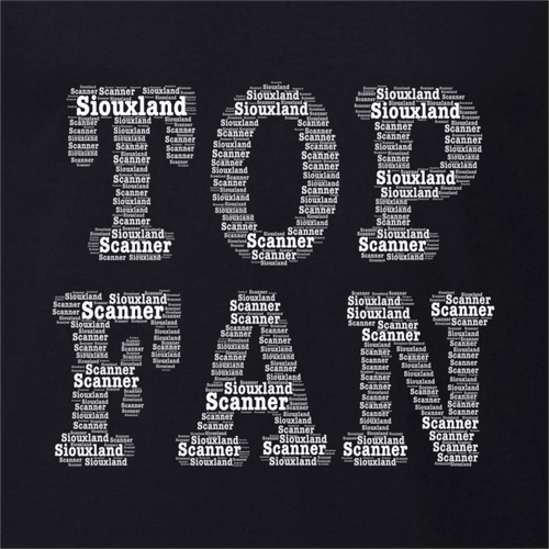 Top Fan Word Art - Siouxland Scanner  T-Shirt