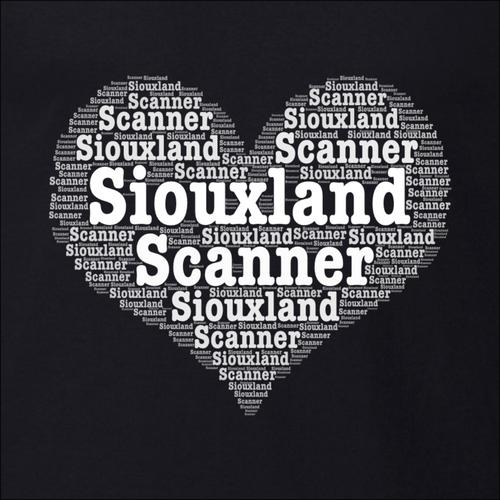 Heart Word Art - Siouxland Scanner  T-Shirt