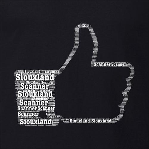 Thumbs Up Word Art - Siouxland Scanner  T-Shirt