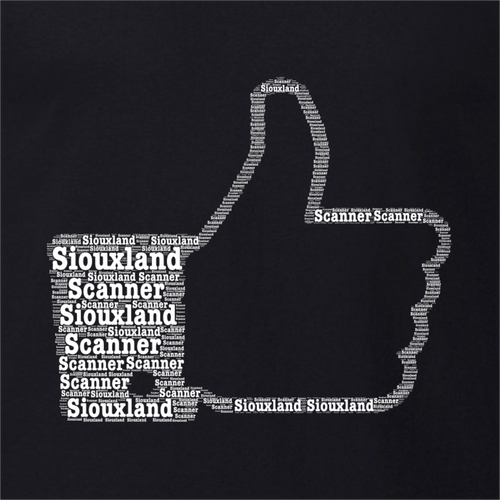 Thumbs Up Word Art - Siouxland Scanner  T-Shirt