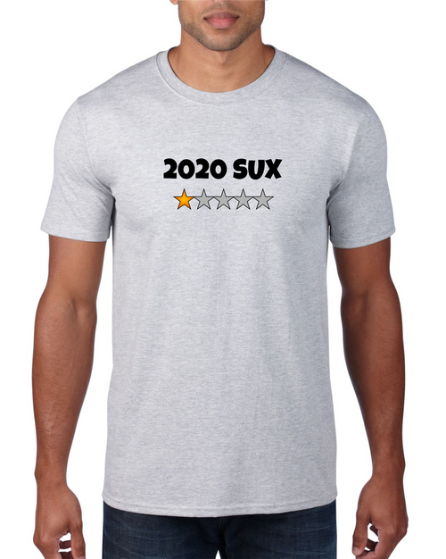 2020 SUX - 1 Star 4XL T-Shirt