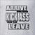 Arrive, Unload, Kick Ass Racing T-Shirt